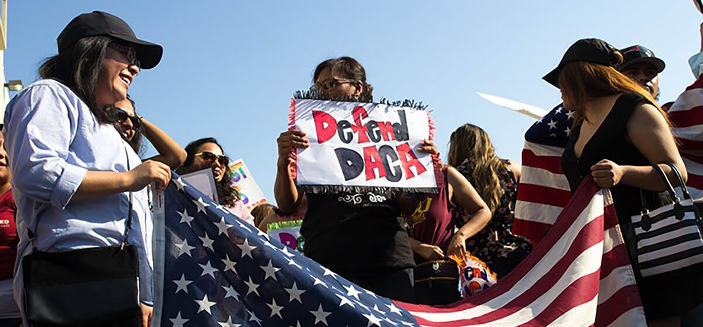 DACA Supporters|Andrea Jaramillo via Cronkite News