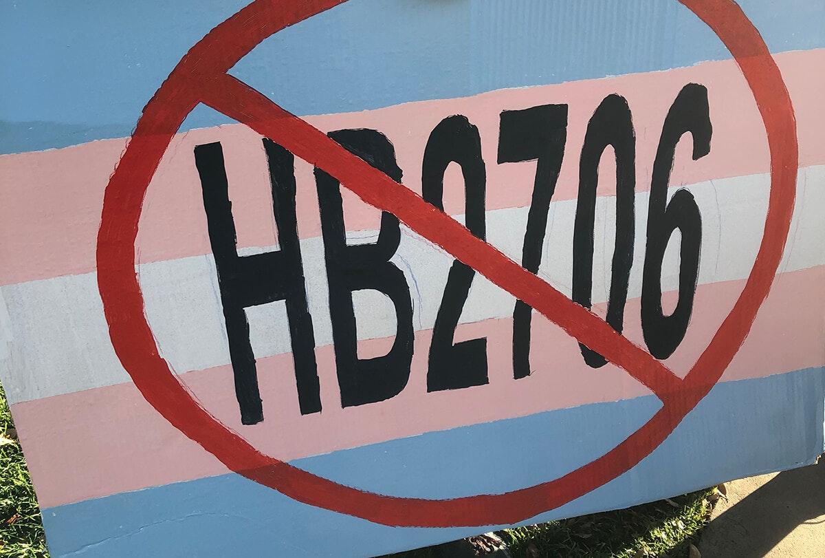 Sign opposing HB 2706