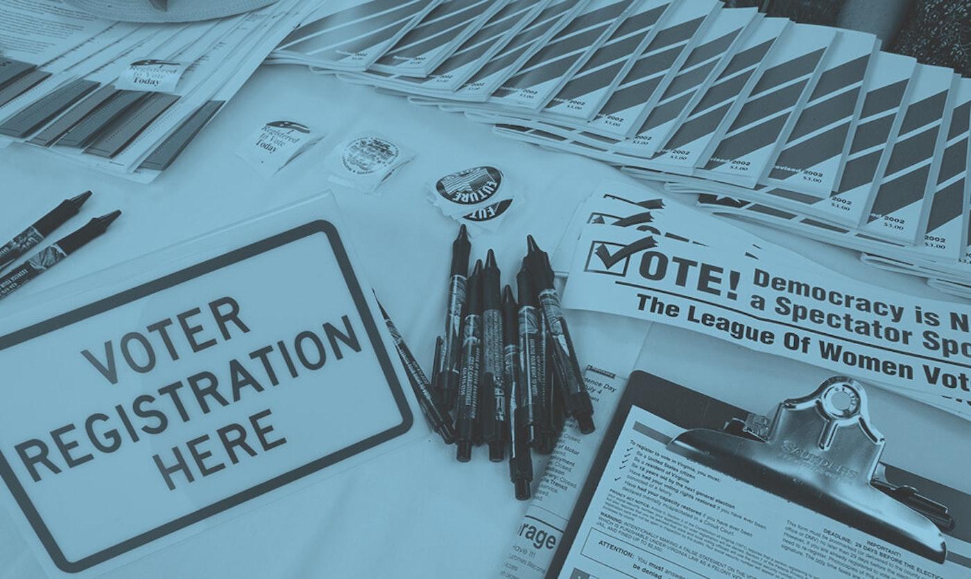 voter registration documents