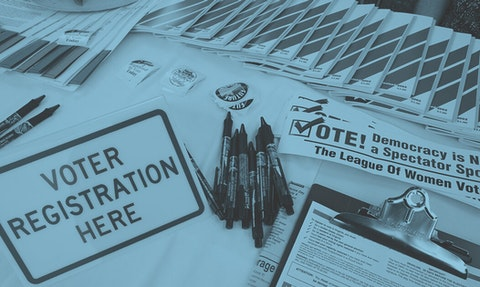 voter registration documents
