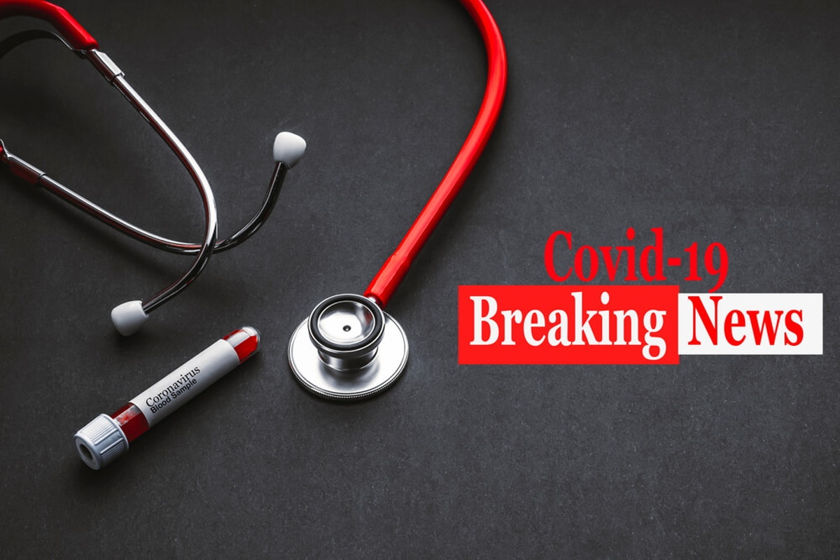 COVID-19  Breaking News|Stock Photo
