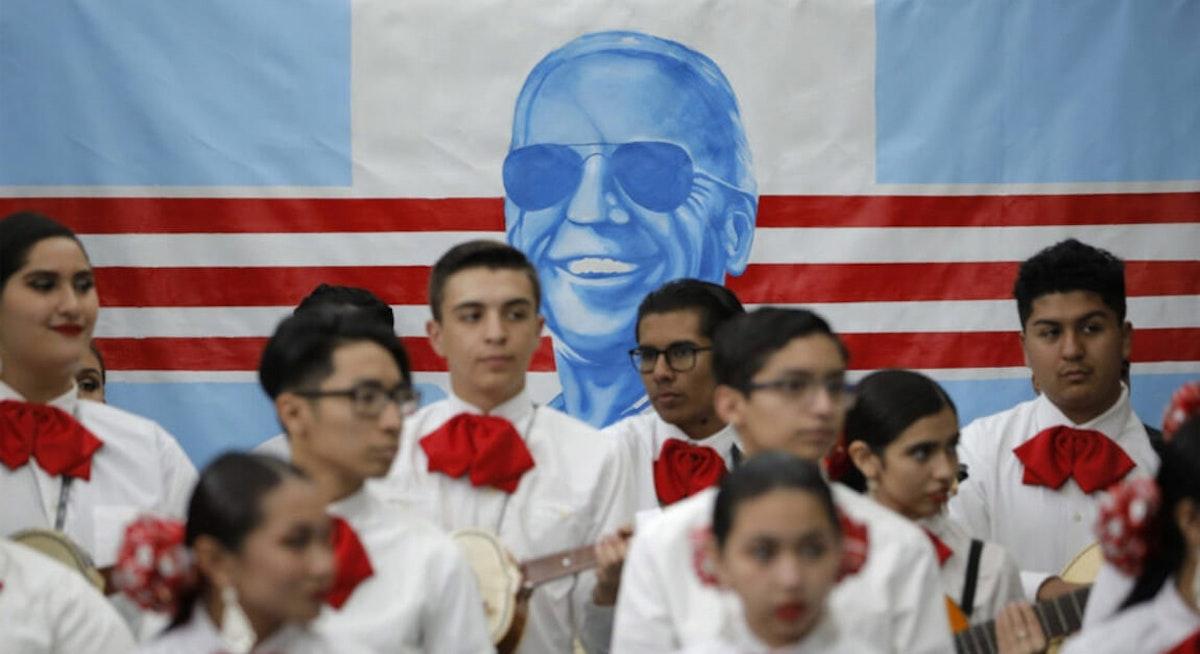 Election 2020 Joe Biden Latinos