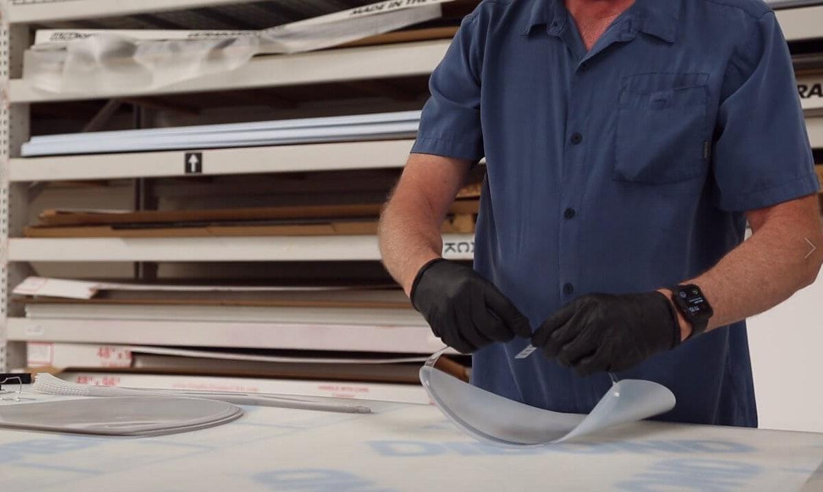 scottsdale printer face shields