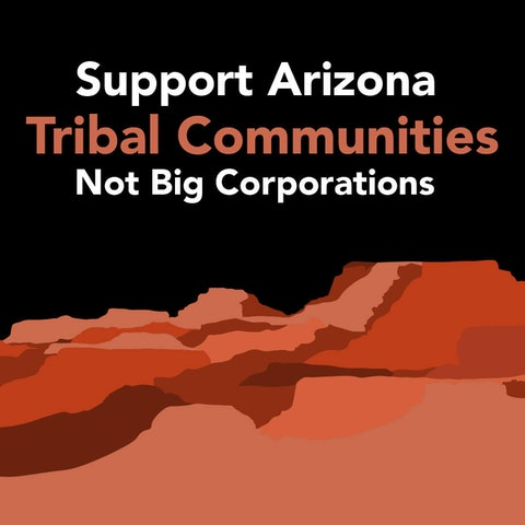 Tribal Communities|Courier Graphic by Desirée Tapia