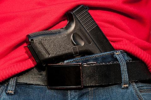 gun hidden in belt