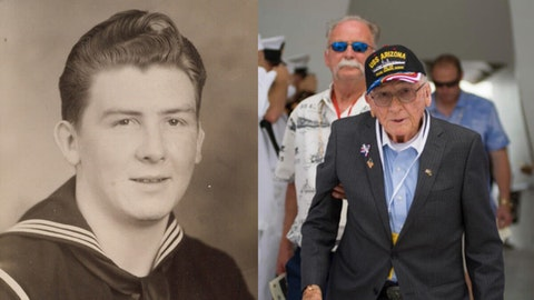 Donald Stratton U.S.S. Arizona dies