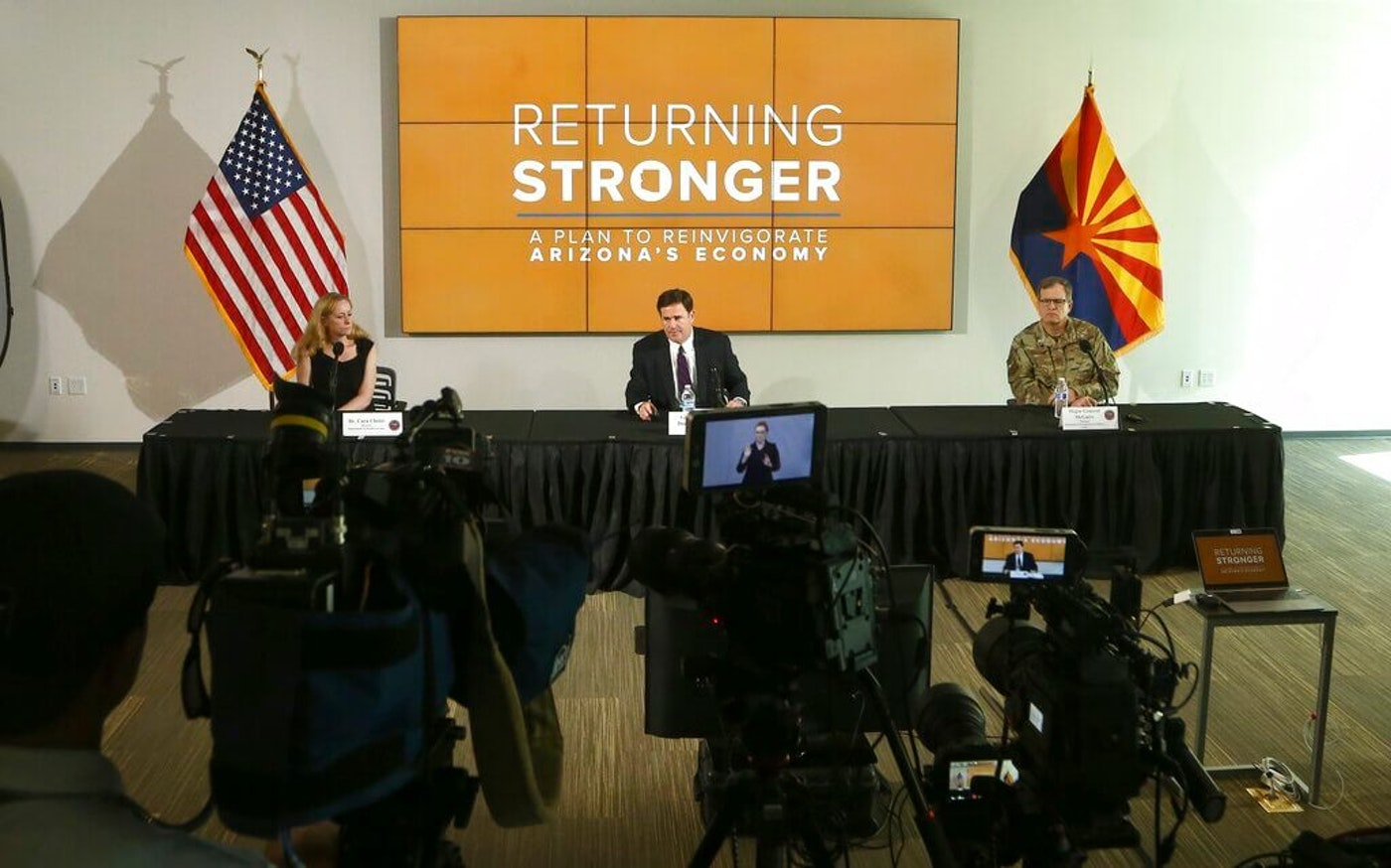 Gov. Ducey reopen COVID-19