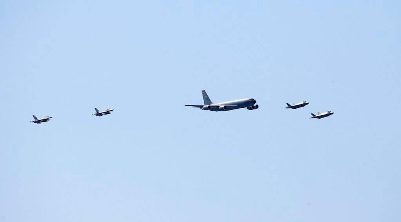 Luke Air Force Flyover