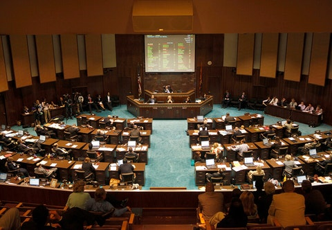 Arizona Legislature in session