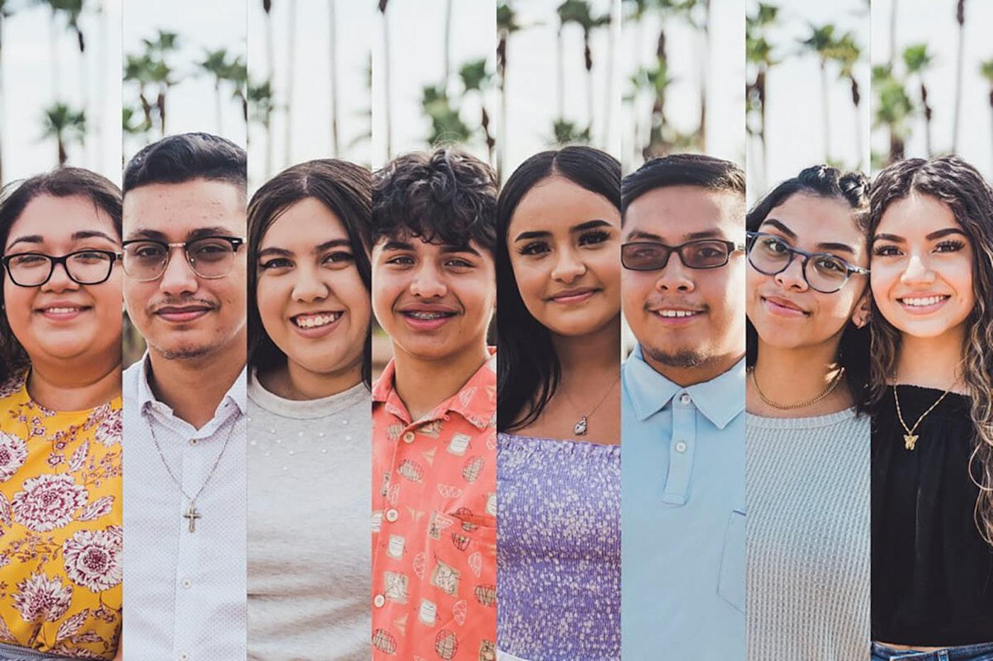 headshots of eight young Arizona immigrants
