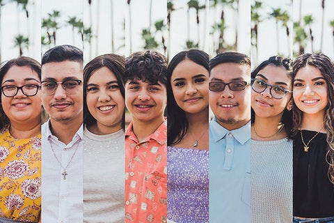 headshots of eight young Arizona immigrants