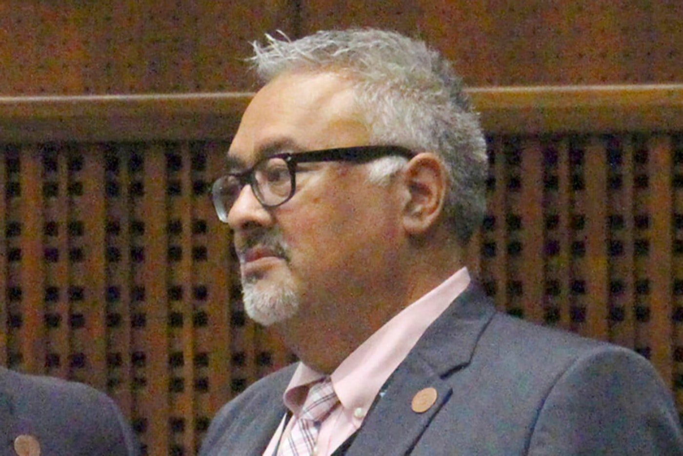 close up of Rep. Sierra