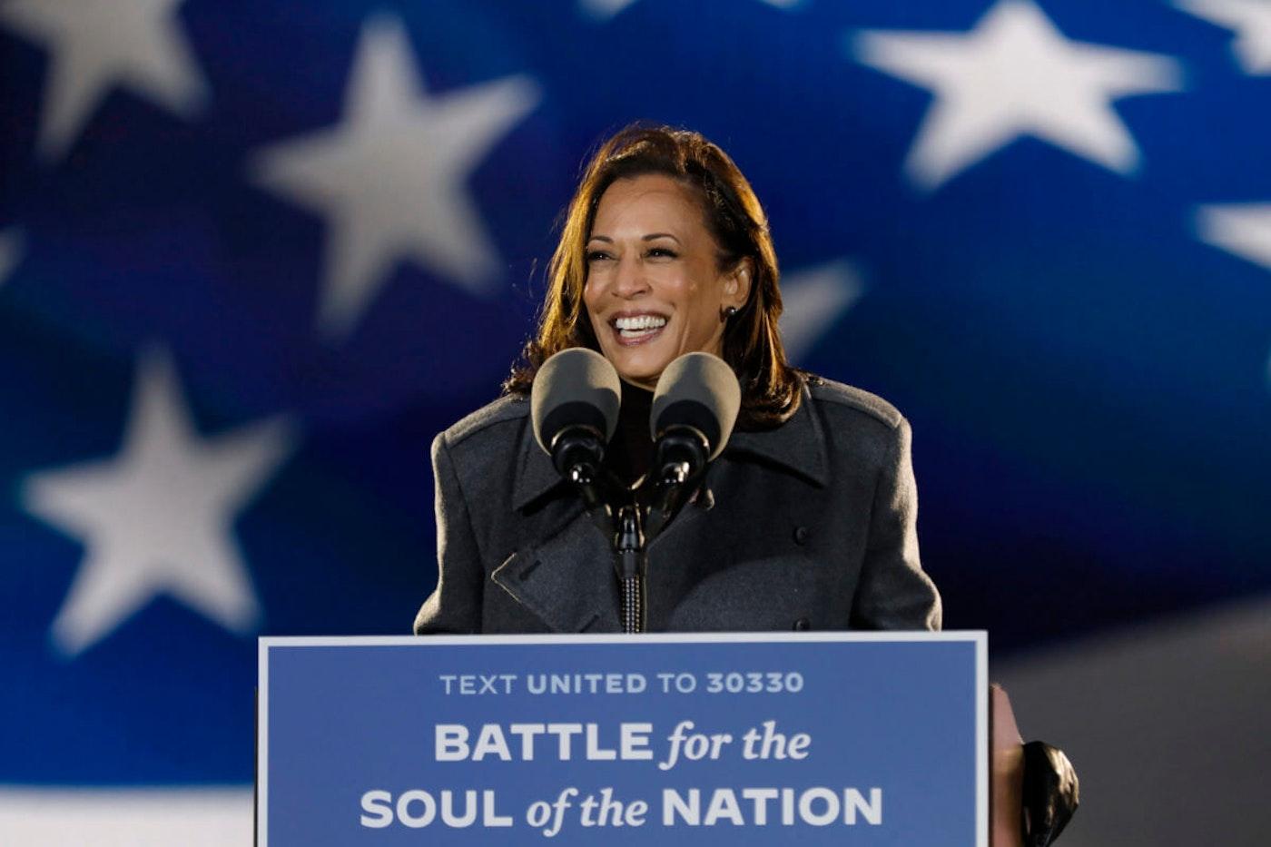 Vice President-Elect Kamala Harris (Carolyn Cole / Los Angeles Times via Getty Images)