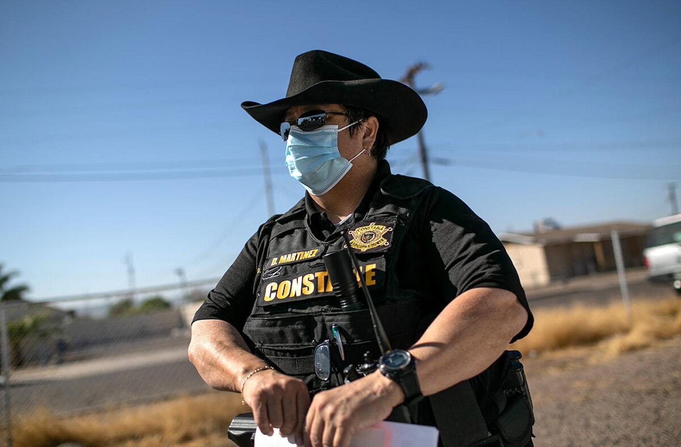 Constable Darlene Martinez in uniform