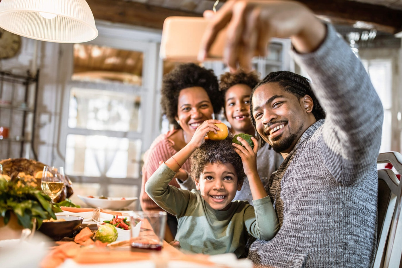 Even though Thanksgiving may look different this year, that doesn't mean it can't be a memorable experience. Photo by skynesher/Getty Images