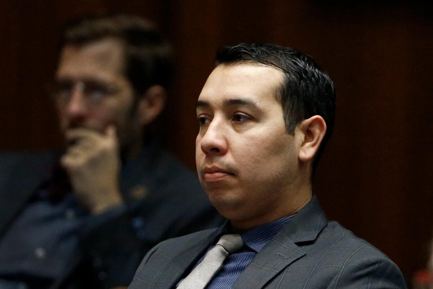 closeup of Tony Navarrete sitting in the Legislature