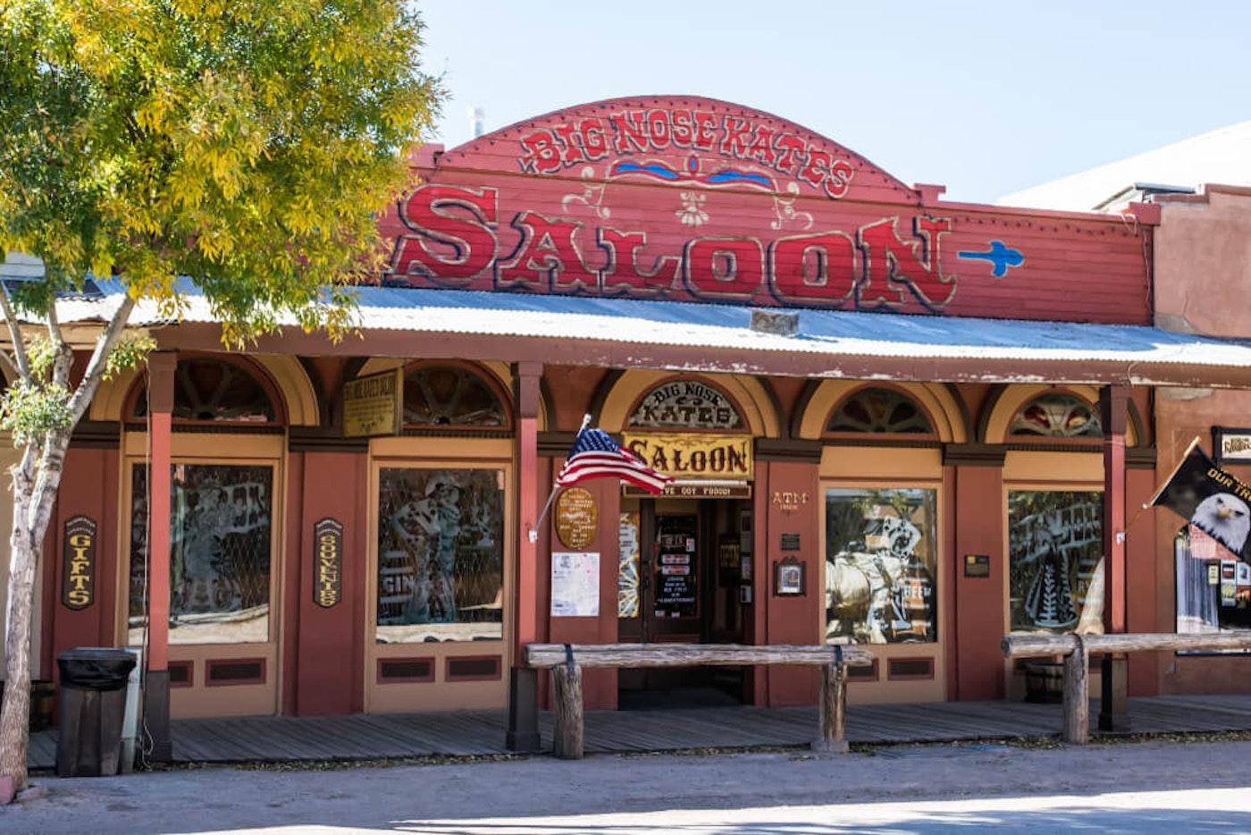 Big Nose Kate's Saloon in Tombstone, Arizona
