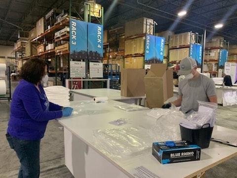 North Carolina PPE shortages