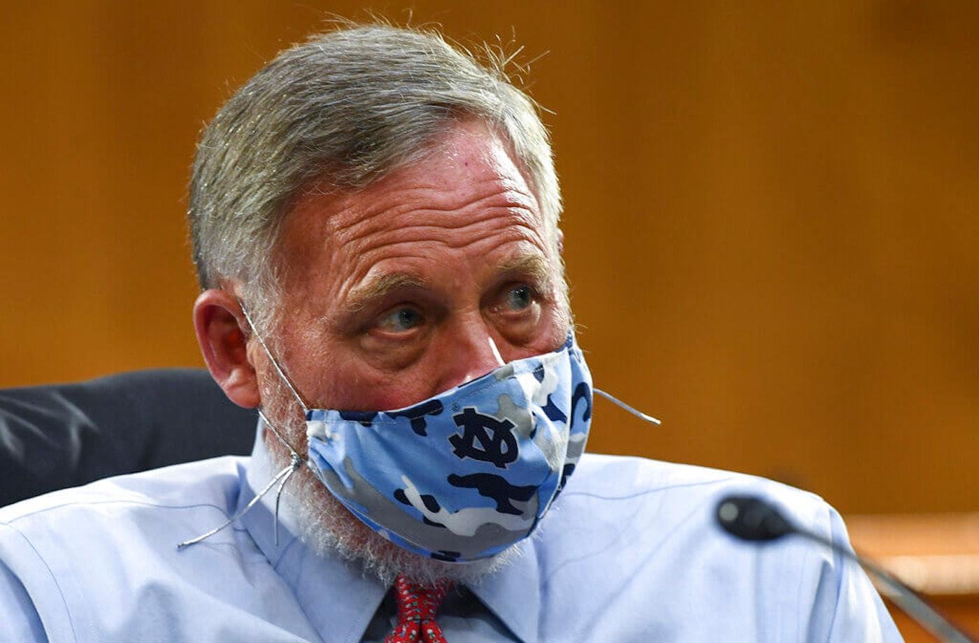 Senator Burr steps down
