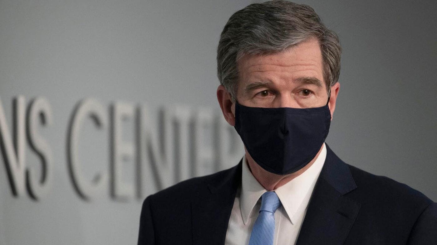 Gov. Roy Cooper ordered a mandatory mask rule this week. (Image via NC DPS)