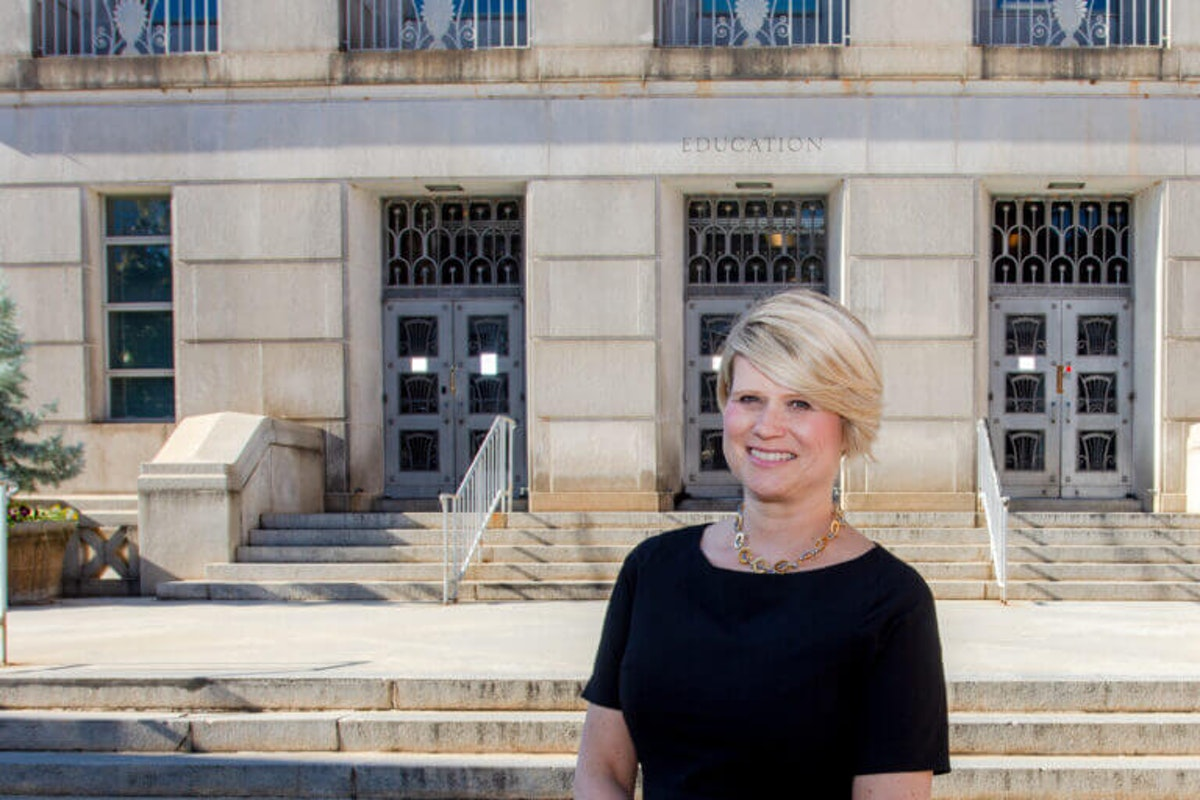 A NC teacher says recent remarks by GOP superintendent candidate Catherine Truitt raises some red flags. (Photo via Truitt's campaign page)