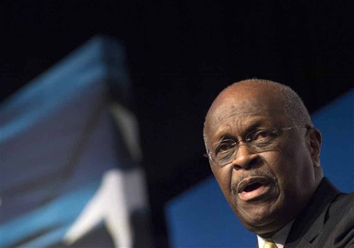 Herman Cain, former Republican presidential candidate and businessman, passed away due to complications from coronavirus (AP Photo/Molly Riley)