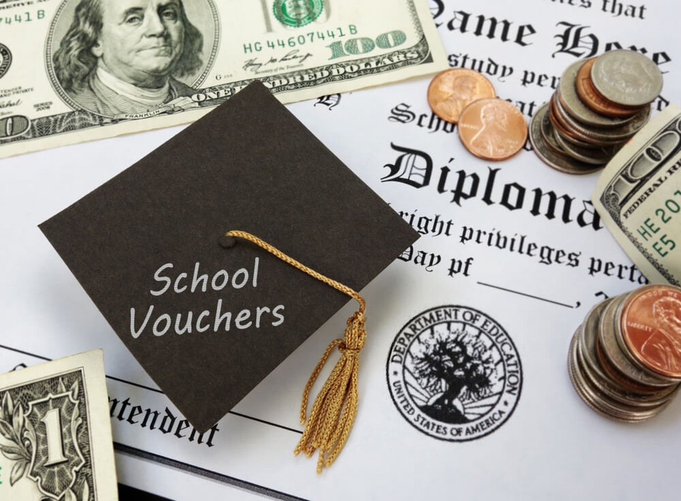 Seven NC plaintiffs are challenging the constitutionality of the state's Opportunity Scholarship voucher program for private schools. (Image via Shutterstock)