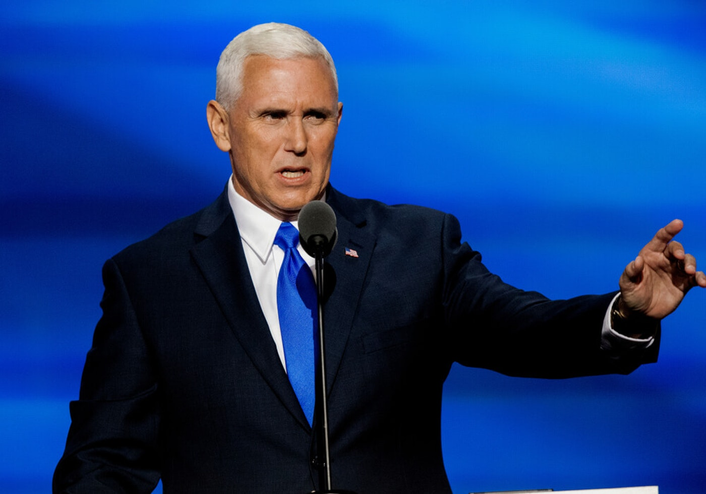 A NC teacher says that, with federal lawmakers stalled on aid for school reopening, Vice President Pence should not be in the state touting a private school right now. (Image via Shutterstock)