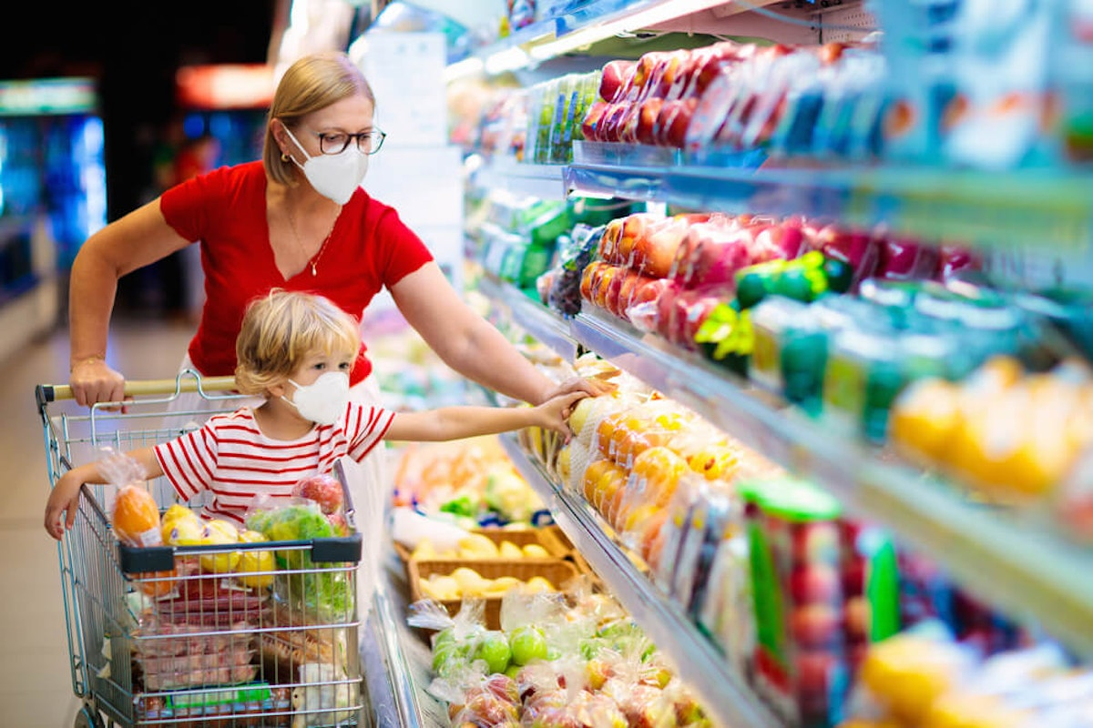 A new report says 20% of North Carolinians with children report not having enough food to eat. (Image via Shutterstock)