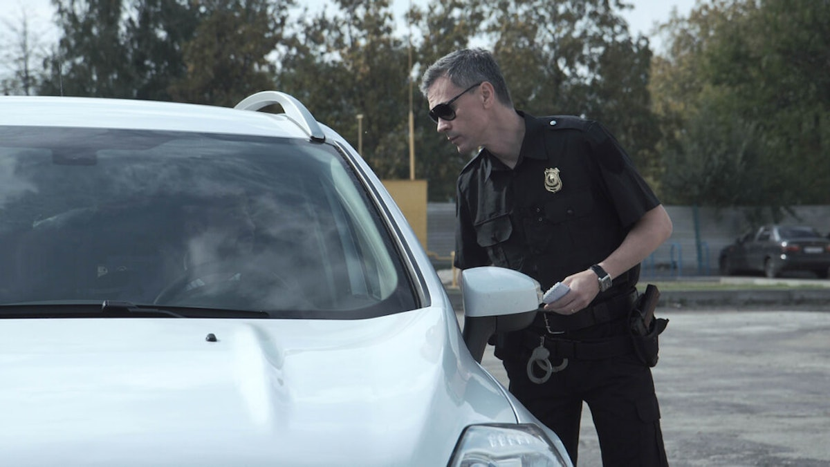 A new NC study says Black drivers are more than twice as likely as white drivers to be pulled over by law enforcement. (Image via Shutterstock)