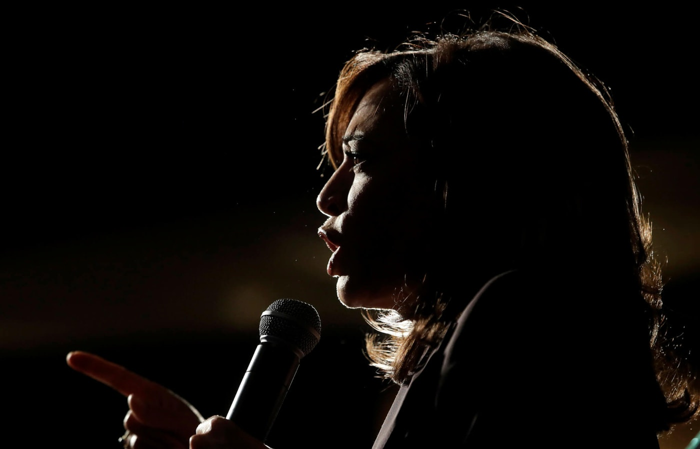 In this Saturday, June 1, 2019 file photo, ex-Democratic presidential candidate Sen. Kamala Harris, D-Calif., speaks at an SEIU event before the 2019 California Democratic Party State Organizing Convention in San Francisco. Harris is only the second Black woman to serve in the Senate, and in 2020, a prominent contender for the vice-presidential ticket. (AP Photo/Jeff Chiu)