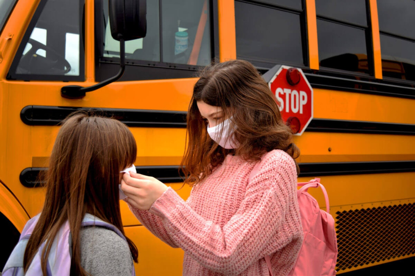 Some NC school districts are returning to classrooms with coronavirus still booming. (Image via Shutterstock)