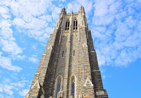 Duke University students, forced off campus by coronavirus, spearheaded a fast-growing pandemic aid group. (Image via Shutterstock)