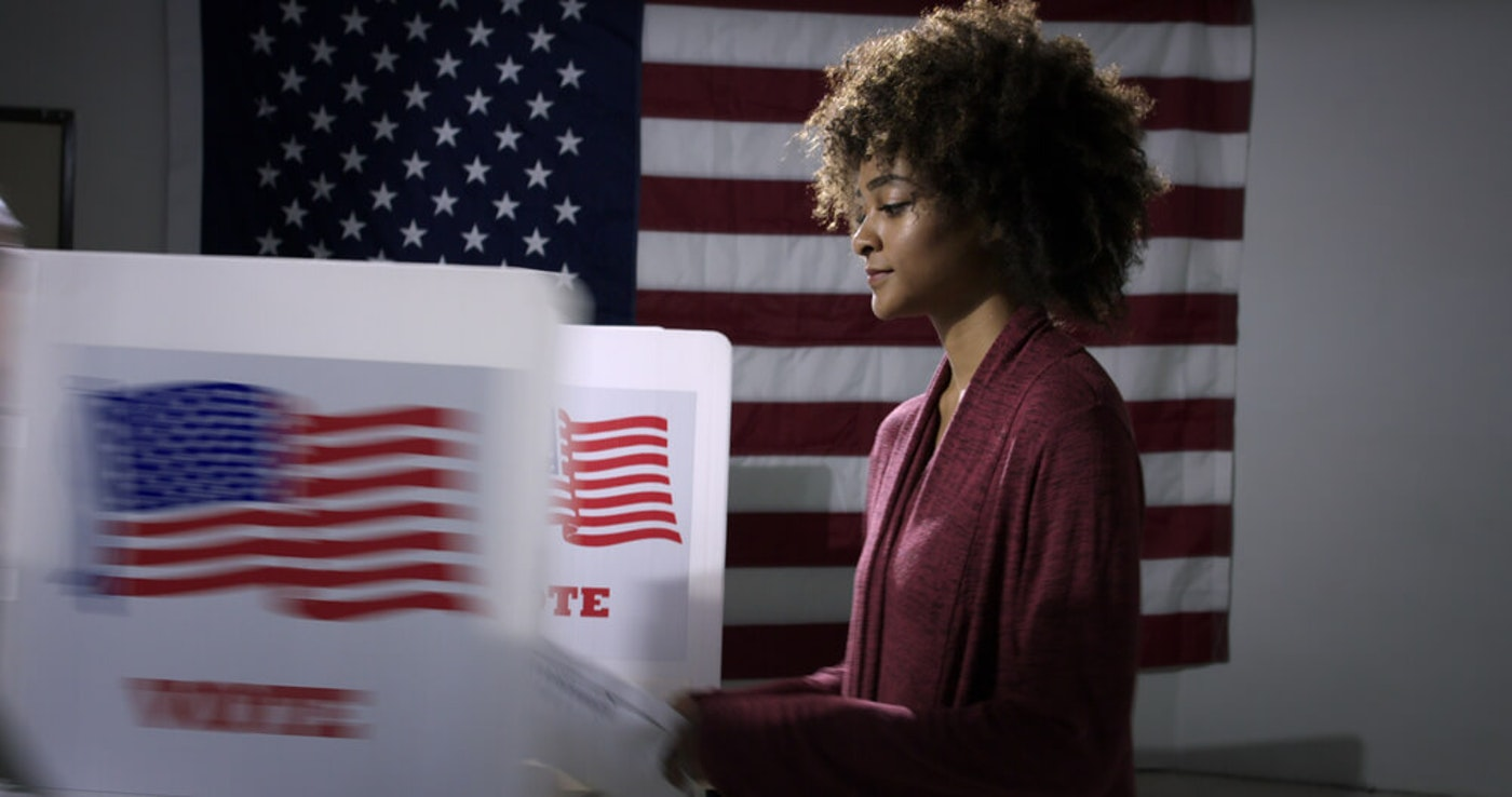A UNC-Greensboro student tells us why her first election might just be her most important. (Image via Shutterstock)