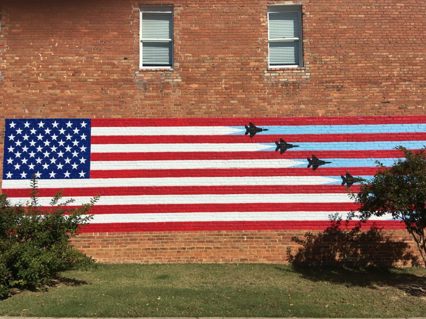 A mural in downtown Goldsboro. (Photo by Billy Ball)