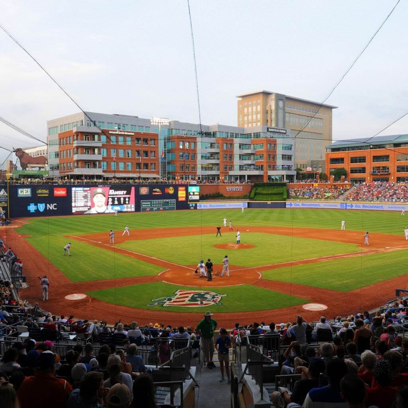 The Durham Bulls Athletic Park, one of the finest ballparks you'll find anywhere. (Photo: Durham Bulls)