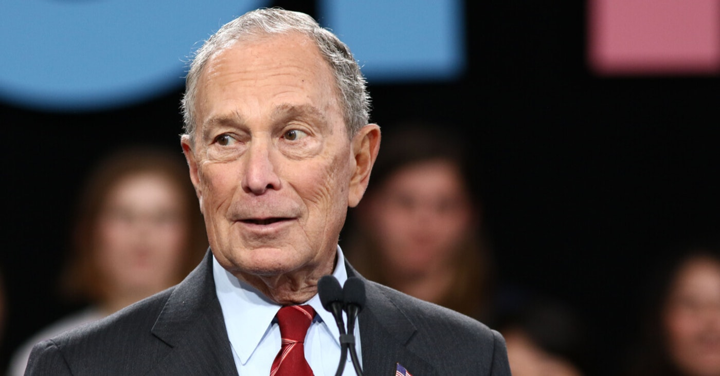 Bloomberg donates to voto latino