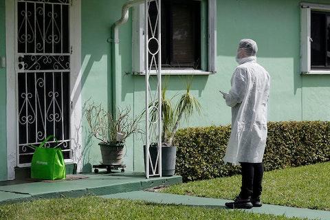 Coranavirus cases in Florida, Miami and New York
