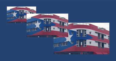 The Miami restaurant giant mural is at the center of the Puerto Rican Flag controversy.