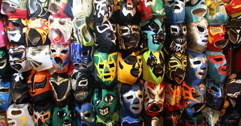 Lucha Libre Wrestelers Making Face Masks for Coronavirus
