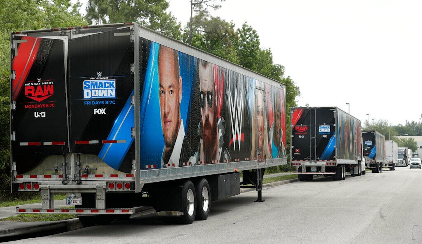 WWE trailer