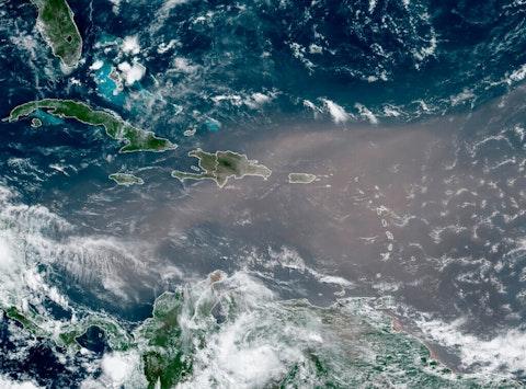 Puerto Rico Sahara Dust