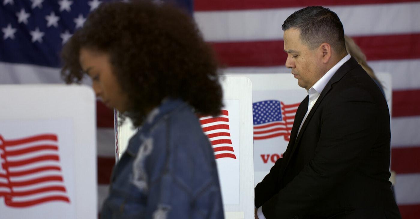 Latinos voting