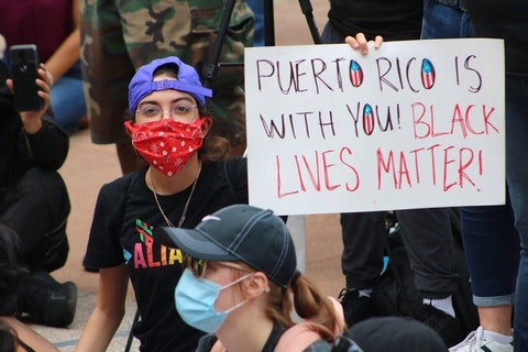 Puerto Ricans Black Lives Matter