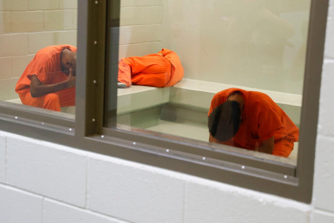Adelanto ICE center detainees.