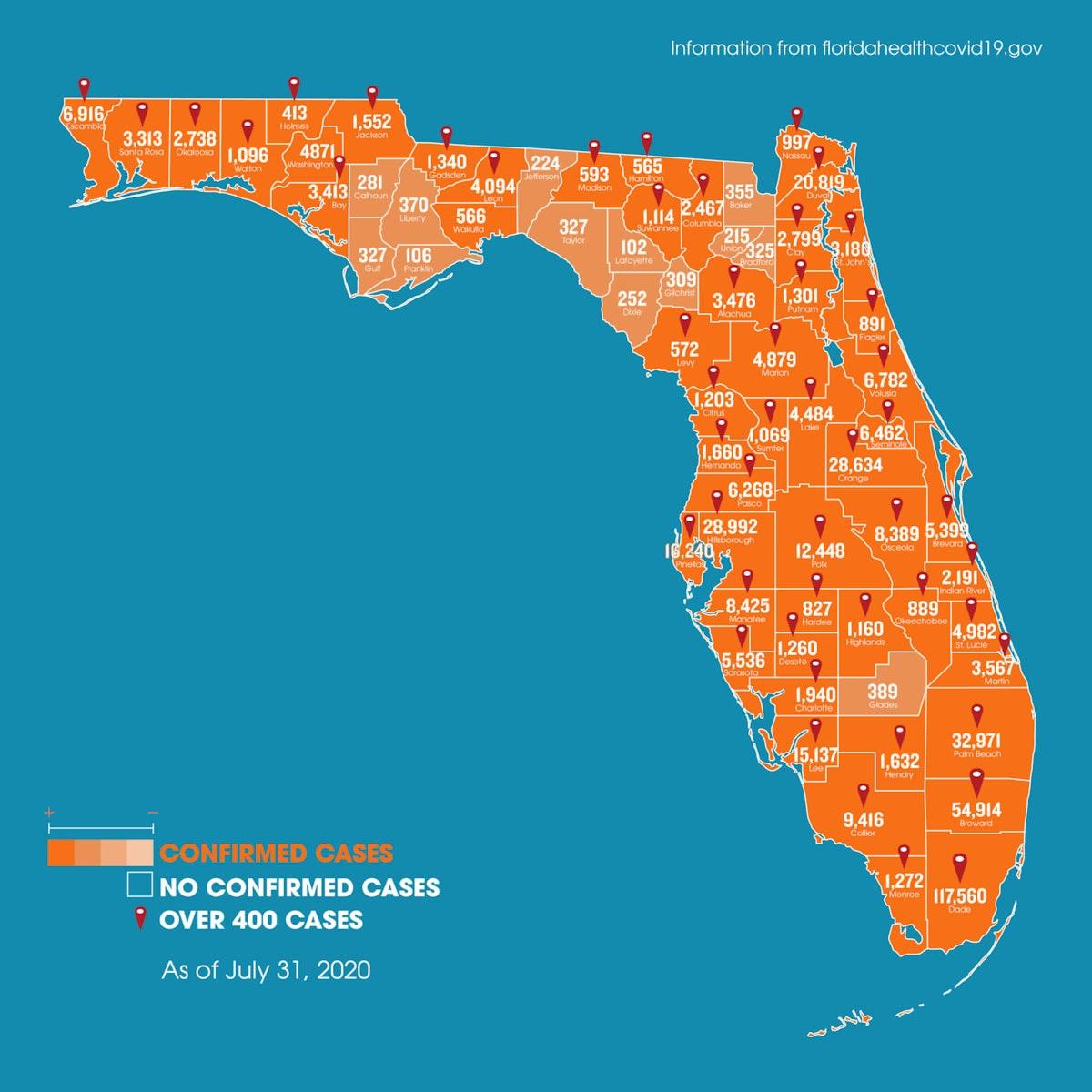 Coronavirus-map-update-Florida
