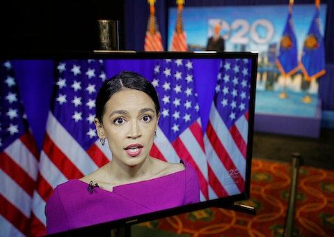 Alexandria - Ocasio-Cortez - Election 2020 DNC