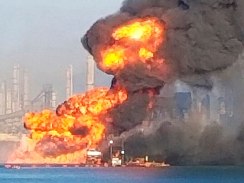 Corpus Christi Explosion