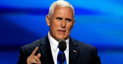 Mike Pence says economy greatest under Trump, not true