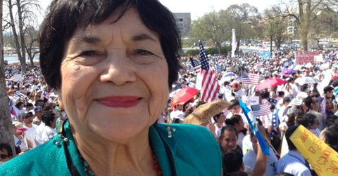 Photo courtesy of Dolores Huerta Foundation for Community Organizing